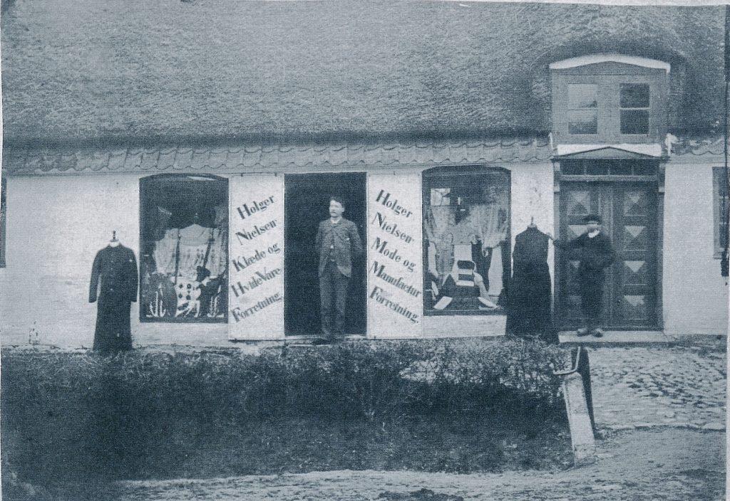 Manufakturhandel i Vesterby 1889 til 1912