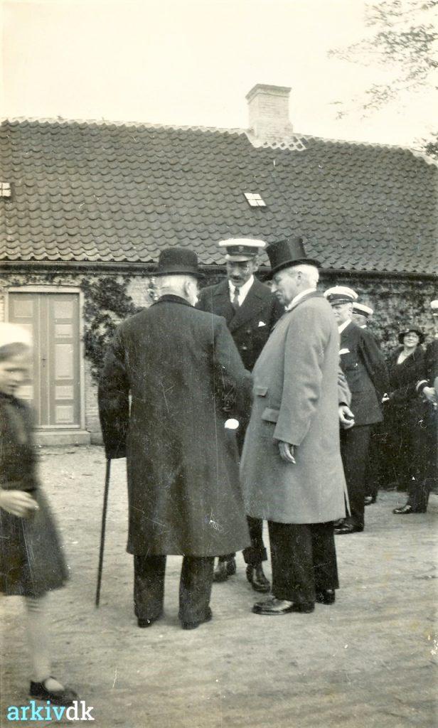 Christian X på Fejø i 1933